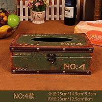 MEICHEN-Pelle Vintage cassetta stagna