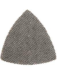 Silverline 517851 Lot de 10 Triangles abrasifs treillis auto-agrippant 95 mm grain 40