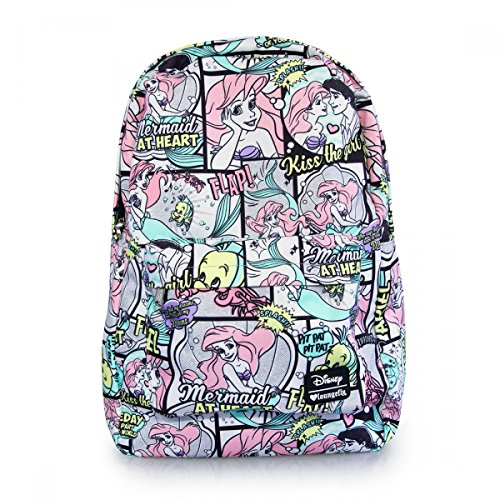 loungelfy-x-ariel-comic-print-backpack