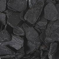 Farbsteine 9-13 mm DEKOSTEINE 1000 g Streudeko braun KAFFEE -16 Steine 1 kg