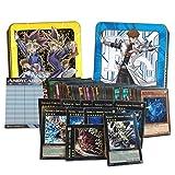 Lotto 100 carte Yu-Gi-Oh! IN ITALIANO con min. 7 mostri XYZ dei quali 3 sono mostri Numero + 1 Tin Portacarte + 1 Segnapunti Andycards