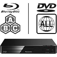 Panasonic DMP-BD84EB-K Smart ICOS Multi Region All Zone Code Free Blu-ray Player. Blu-ray…