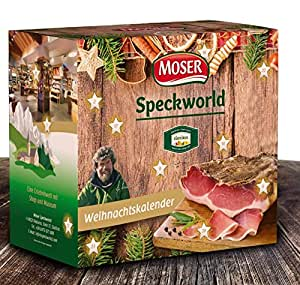 Moser Adventskalender / Speckkalender / Weihnachtskalender, 1er Pack (1 x 2.7 kg)