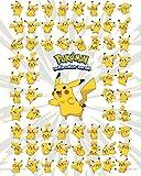 GB Eye 40x 50cm Pikachu Pokemon Mini-Poster, Mehrfarbig