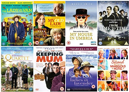 e DVD Collection : The Lady in the Van / My Old Lady / My House in Umbria / From Time To Time / Quartet / Keeping Mum / Ladies in Lavender / The Second Best Exotic Marigold Hotel + Extras by Maggie Smith ()