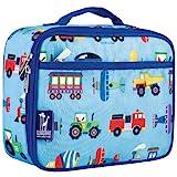 Best Kids Lunchboxes - Wildkin Kids Blue Transport Lunch Box Review