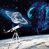 isremi (TM) Visionking alta calidad espacio astronómico telescopio 360/50mm–al aire libre telescopio monocular con portátil trípode
