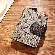 Cute Short Zipper Buckle Purse Women's Leather Wallet Bee Mini Han