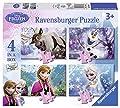 Disney Frozen - Puzzle 4 en la caja (Ravensburger 7360) por Ravensburger