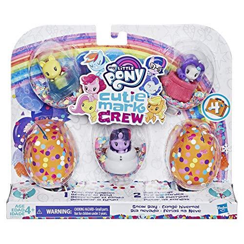 My little Pony - Figuren Cutie Mark Crew Konfetti Überraschungen - Set mit 5 Cutie Mark Crew Thema Grand Gala - 5 cm