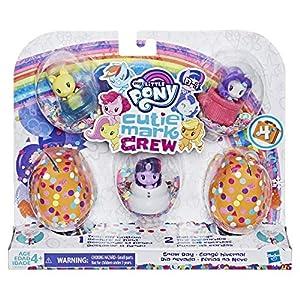 My Little Pony - Figuras Cutie Mark Crew Confettis Surprises - Caja de 5 Cutie Mark Crew - Gran Gala - 5 cm