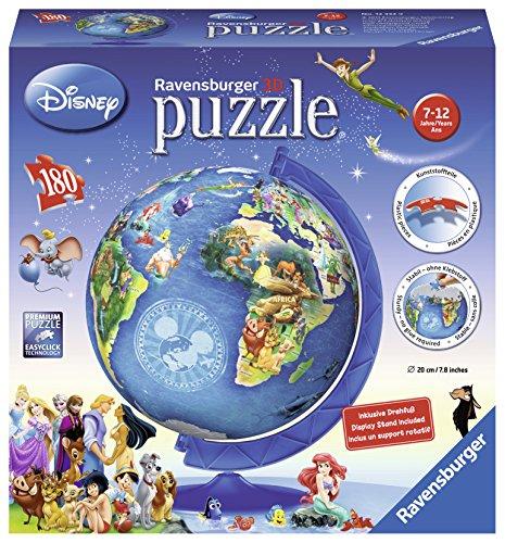 Ravensburger Disney World Map 3D Puzzle (180 Pieces)