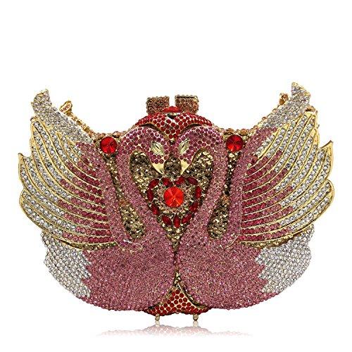 Diamante di lusso Borse sera Ladies preferito borsetta party di nozze portamonete della frizione G