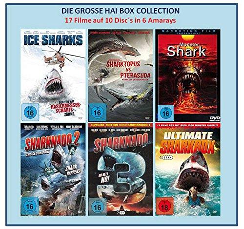 DIE GROSSE HAI BOX COLLECTION ( 15 Hai-Film Klassiker und 2 Dokus ) [10 DVDs]