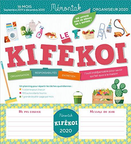 Kifékoi 2019-2020 : Organiseur par Editions 365