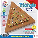 Ratna'S Triangle Colour Match Puzzle,Challenging To Solve For Ages 5 To 99 Years