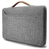 tomtoc Sacoche Ordinateur Portable pour 12.9' Vieux ipad Pro|13.3' Vieux MacBook Air|13.3' Vieux MacBook Pro A1502/1425 |13.5' Surface Book/Laptop, Housse Sac à Main Gris