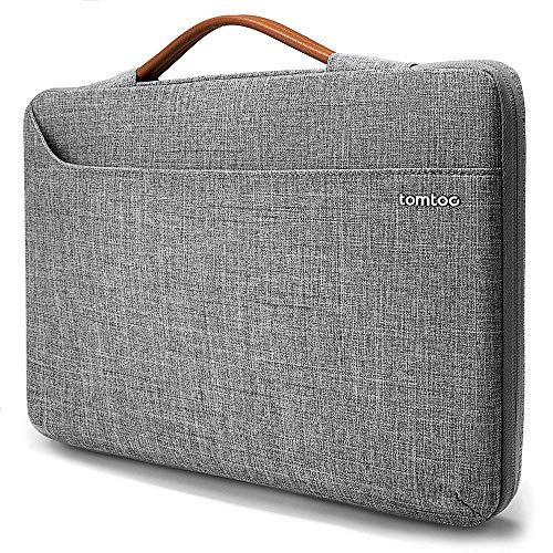 "tomtoc Laptop Aktentasche Hülle kompatibel mit 2018 Neu MacBook Air 13,3"" mit Retina, Neu MacBook Pro 13\"", Neu iPad Pro 12,9\"" mit Liquid Retina und Dell XPS 13, Computer Tragetasche Sleeve Case"