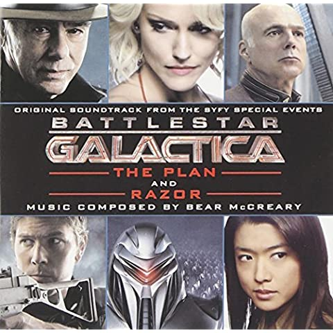 Battlestar Galactica: The Plan / Razor by Bear McCreary (2010-02-23)