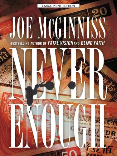 Never Enough (Thorndike Large Print Crime Scene)