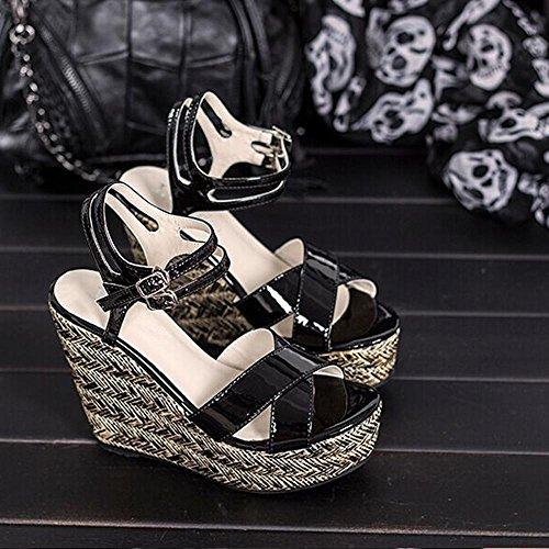 scarpe-donna-sandali-slingback-heel-sandali-oro-argento-nero-39-b