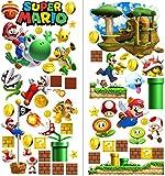 Mario Aufkleber Wandtattoo für Kinder