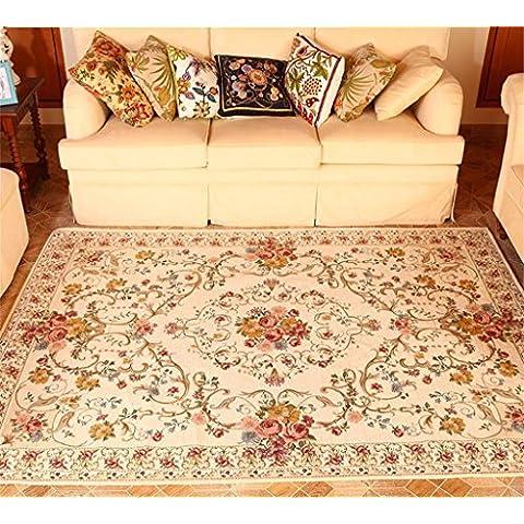 HOME UK-americano Carpet rurale Pastorale Soggiorno Carpet Mat continentale da letto comodino tappeto