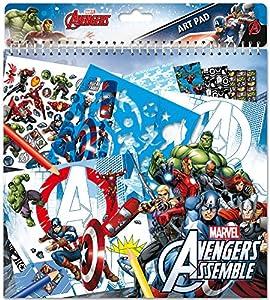 Frajodis-0006998-Cuaderno de bocetos-Avengers-34Piezas