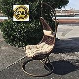 """""""Design Hanging Chair"""" by Eurolandia è l'ideale per rilassarsi e sentirsi a proprio agio! Per i momenti di relax sulla terrazza, sul balcone, in piscina, in giardino o in salotto. Grazie al robusto telaio di acciaio verniciato a polvere garan..."""