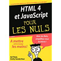 HTML 4 et JavaScript pour les nuls