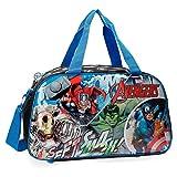 Marvel Avengers Street Bolsa de Viaje, 27.72 litros, Color Azul