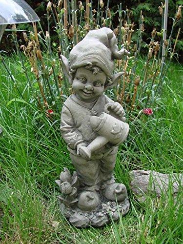 Gnom Fritzchen Figur Zwerg Gartenzwerg Frostfest