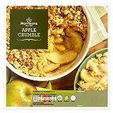 Morrisons Apple Crumble, 500g (Frozen)