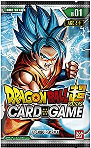Dragon Ball Z Galactic Battle Booster Pack Trading Card Game - Packaging Art May Vary