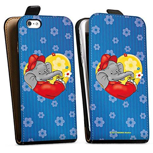 Apple iPhone X Silikon Hülle Case Schutzhülle Benjamin Blümchen Fanartikel Merchandise Blümchen für dich Downflip Tasche schwarz
