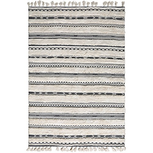 BAGEHUA Teppich Handwerkskunst Indische Baumwolle Leinen Schlafzimmer Nordic Wohnzimmer Couchtisch Retro Kleine Decke,1400mm×2000mm,A -