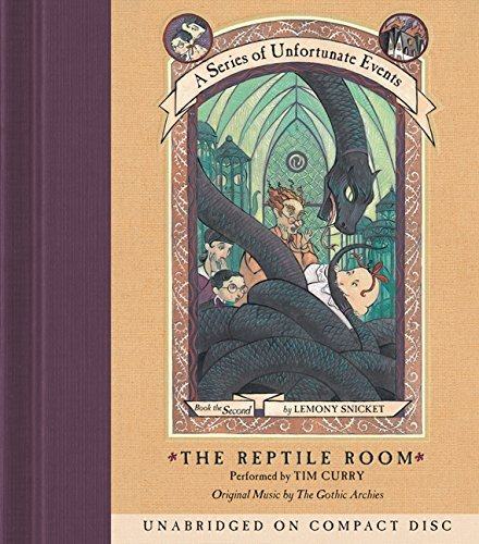 A Series of Unfortunate Events #2: The Reptile Room CD by Lemony Snicket (2014-09-02)