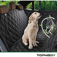 TOPHGDIY Auto Kofferraumschutz Kofferraum Decke mit Seitenschutz für Hunde, Auto-schondecke Hundeschutzdecke für Hunde Autodecke Wasserdicht, Super Weich Rutschfest Hunde-Decke für alle Automodell - Universalgröße 57