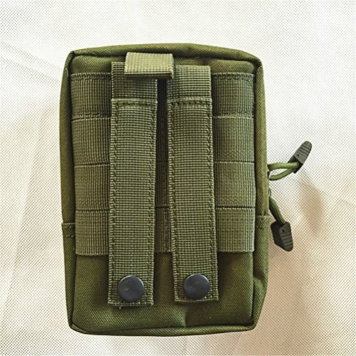 (Qearly Multifunktions Military Compatible Utility Pouch Erste Hilfe Kit-Gruen)