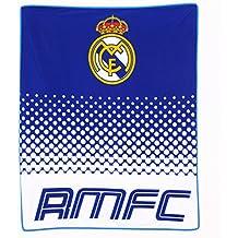 Manta Polar Real Madrid Licencia Oficial 150x125 Centimetros