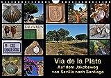 Via de la Plata - auf dem Jakobsweg von Sevilla nach Santiago (Wandkalender 2018 DIN A4 quer): Pilgern auf einer alten Römerstraße - 1000 km zu Fuß ... Natur) [Kalender] [Apr 01, 2017] B., Rina - Rina B.