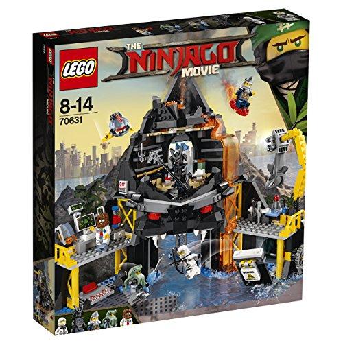 LEGO Ninjago Garmadons Vulkanversteck 70631, Bauspielzeug