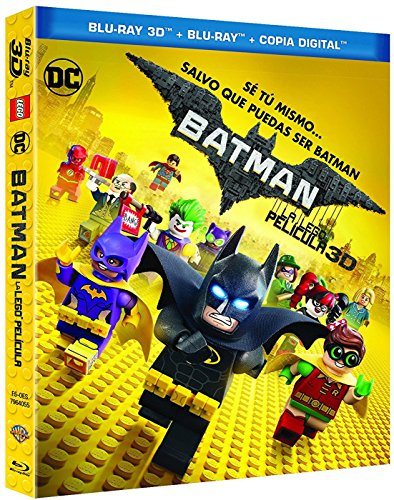 Batman: La Lego Película (Blu-ray 3D + Blu-ray + Copia Digital) [Blu-ray]