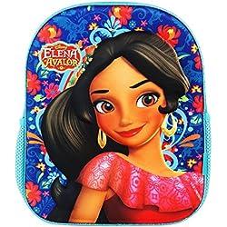 Disney Elena di Avalor Zaino Infantil 3D per Bambini Asilo come Portamerenda e Tempo Libero