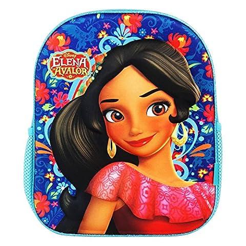 Disney Elena di Avalor Destiny Sac à dos 3D Sac pour l