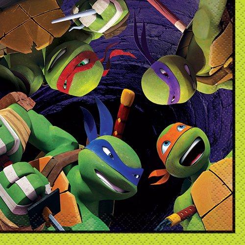 Teenage Mutant Ninja Turtles Party Thema - Teenage Mutant Ninja Turtles Beverage Napkins,