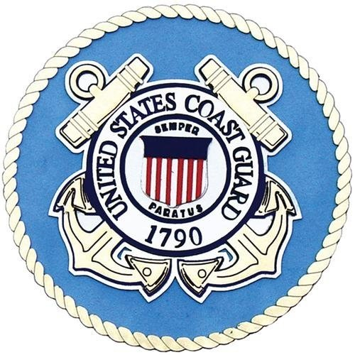 Uniformed U.S. Coast Guard Emblem Die Cut by UNIFORMED (Coast Guard Emblem)