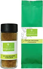 SorichOrganics Ceylon Cinnamon Powder, 60 gm (Sprinkler + Refill Pack)