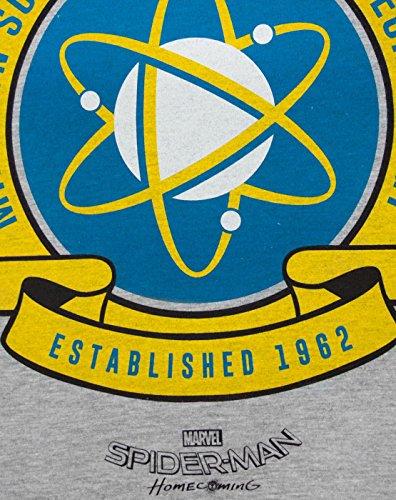 Spider-Man-Homecoming-Midtown-School-Mens-T-Shirt-S