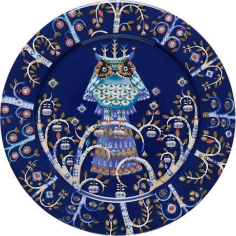 Iittala Taika Dinner Plate 10.6 Blue by Iittala (Blue Plate Iittala)